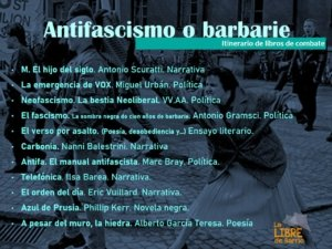 Antifascismo o barbarie